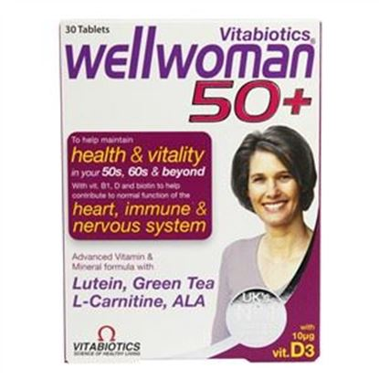 Picture of Vitabiotics Wellwoman 50+