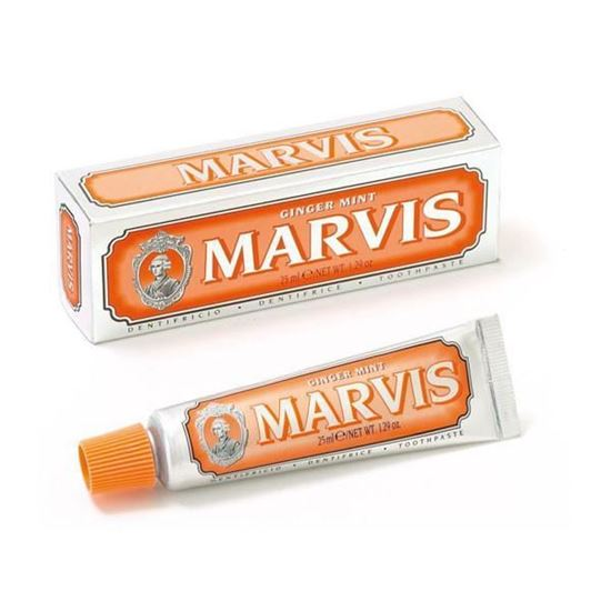 Picture of Marvis Ginger Mint Toothpaste - Travel Size - 25ml