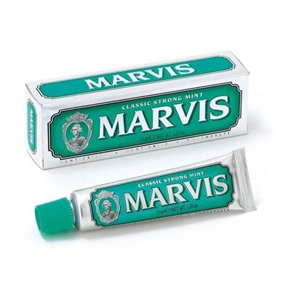 Picture of Marvis Toothpaste Classic Strong Mint - Travel Size - 25ml