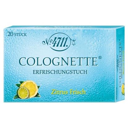 Picture of 4711 Colognette Refreshing Lemon Tissue - 20 pieces