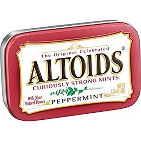 Picture of Altoids Curiously Strong Mints Peppermint - 50g
