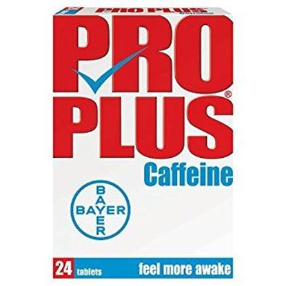 Picture of Bayer Pro Plus Caffeine - 24 tablets
