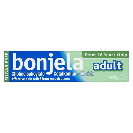 Picture of Bonjela Original Gel Adult 16 plus - 15g