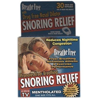 Picture of Breathe Free Snoring Relief - Mentholated
