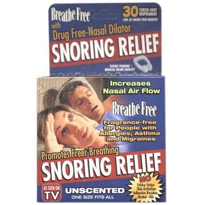 Picture of Breathe Free Snoring Relief - Unscented