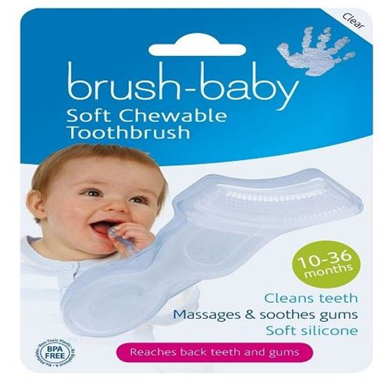 Picture of Brush-Baby Soft Chewable Toothbrush - 10-36 Months