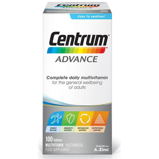 Picture of Centrum Advance Multivitamin - 100 tablets