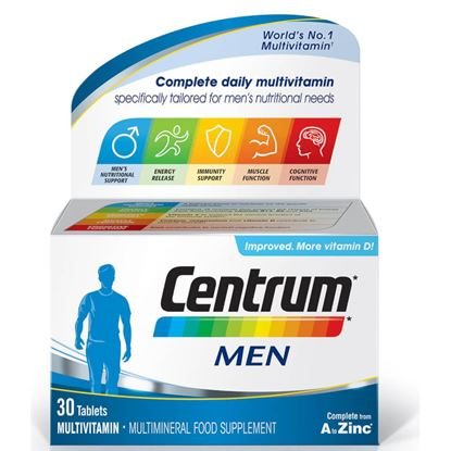 Picture of Centrum Men - 30 tablets