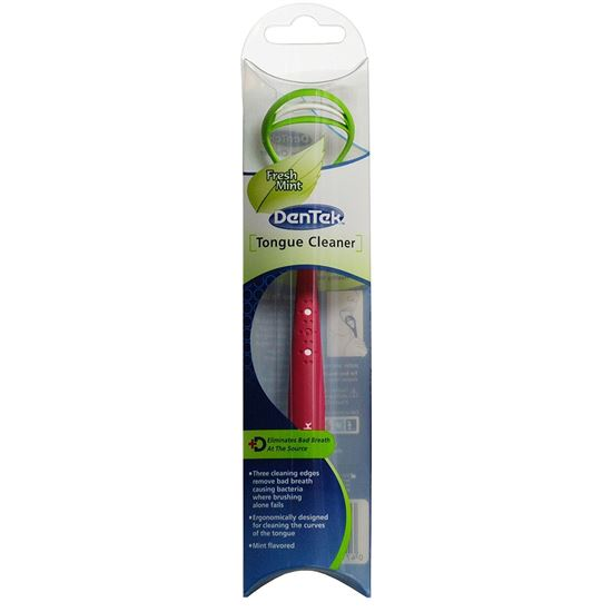 Picture of DenTek Tongue Cleaner - Fresh Mint