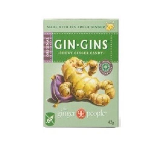 Picture of Gin Gins Chewy Ginger Candy - 42g