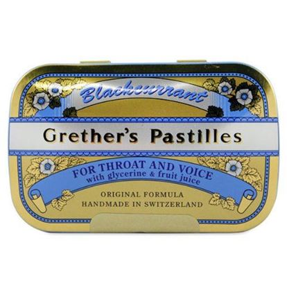 Picture of Grether's Pastilles - Blackcurrant - 60g