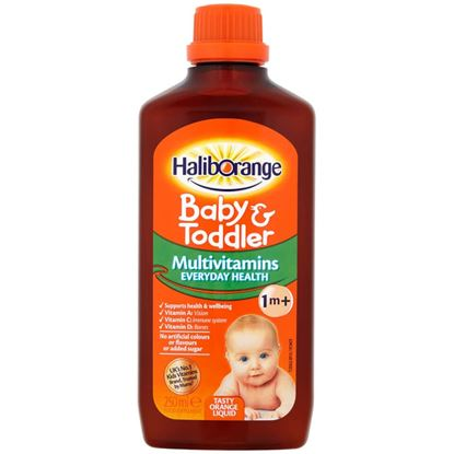 Picture of Haliborange Baby & Toddler Multivitamins 1+ Months - 250ml