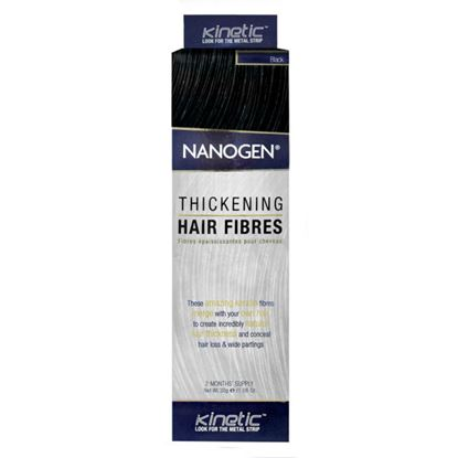 Picture of Nanogen Thickening Hair Fibres - Black - 2 Months' Supply