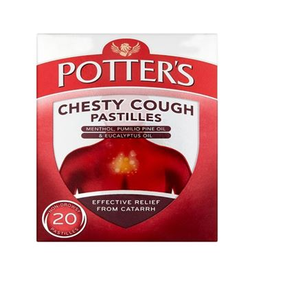 Picture of Potter's Chesty Cough Pastilles - 20