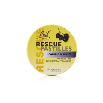 Picture of Rescue Pastilles Soothing Blackcurrant - 50g