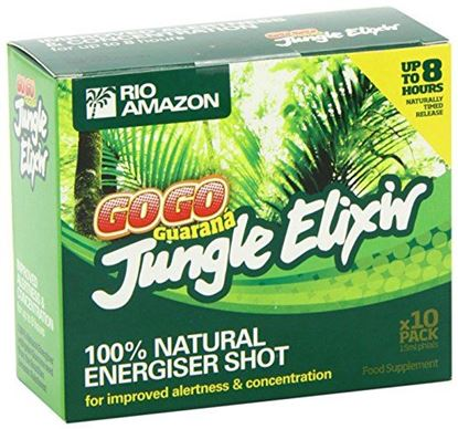 Picture of Rio Amazon GOGO Guarana Jungle Elixir Organic Energy Shots - 10 pack
