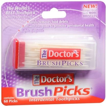 Picture of The Doctor's BrushPicks - 60 Picks