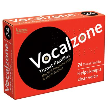 Picture of Vocalzone Throat Pastilles - 24 Pastilles
