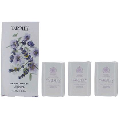 Picture of Yardley Luxury Soap - English Lavender - 3 x 100g