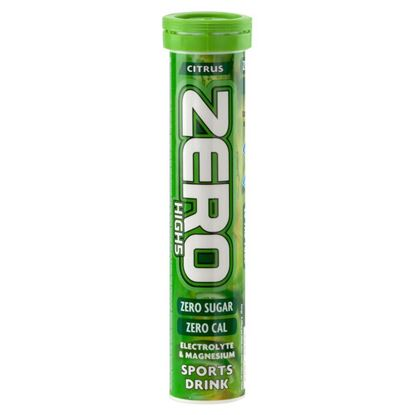 Picture of Zero Citrus Flavour Sports Drink Tablets - 20 Tablets