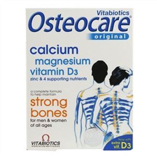 Picture of Vitabiotics Osteocare Tablets - 90