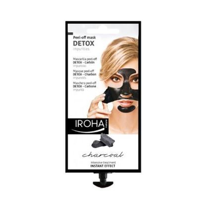 Picture of Iroha Nature Charcoal Peel-off mask - Detox - 18g