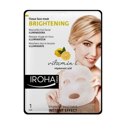 Picture of Iroha Nature Brightening Tissue Face Mask - Vitamin C