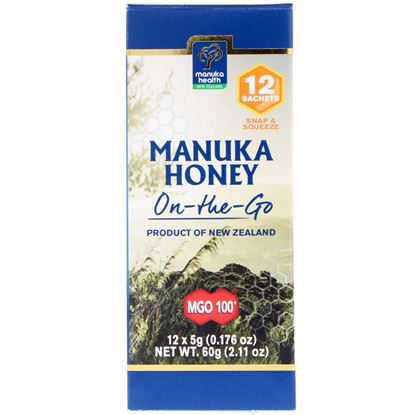 Picture of Manuka Health Manuka Honey On-the-Go - 12 sachets