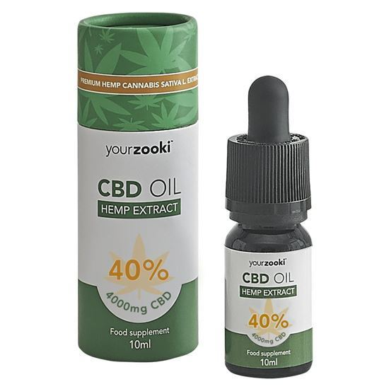 yourzooki 40% CBD Hemp Extract