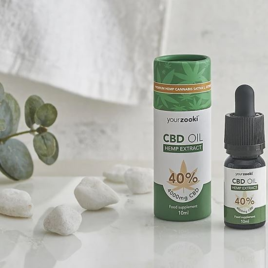 yourzooki 40% CBD Hemp Extract - Made from 100% Natural Ingredients